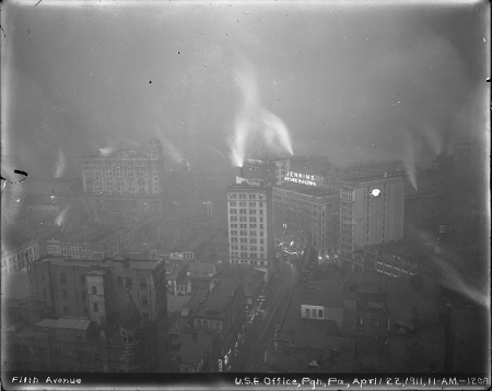Pittsburgh Smog from 1911