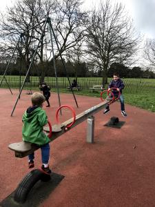 Seesaw in Regents Park