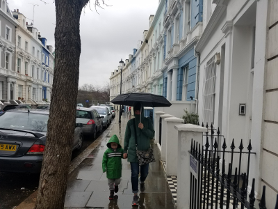 Rainy Day in Notting Hill