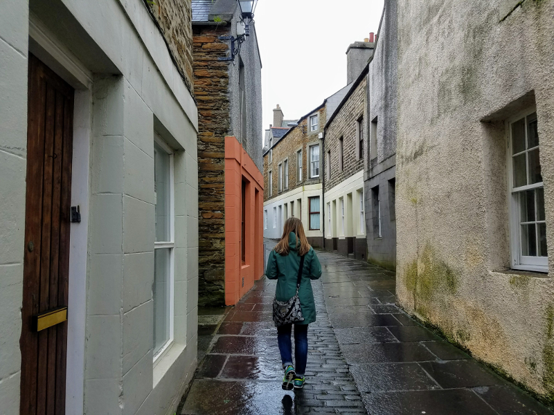 Narrow roads of Stromness